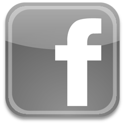 footer icon facebook dark
