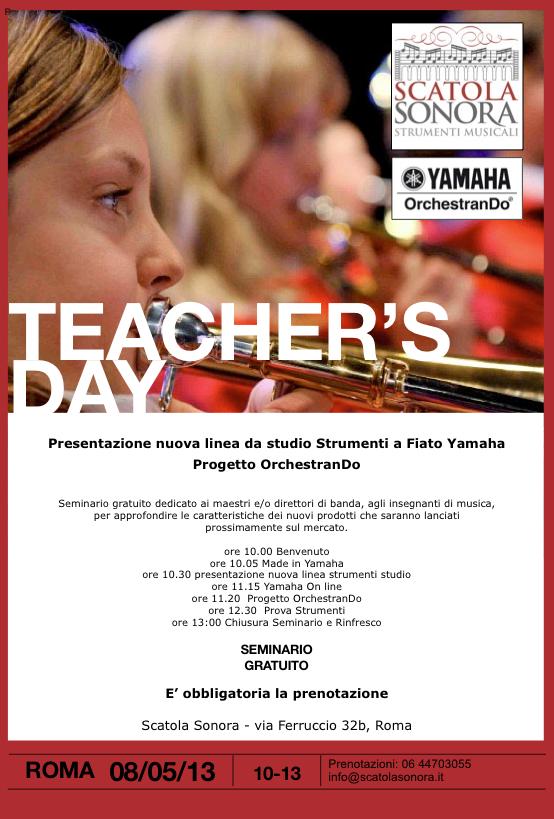 Roma 8 maggio: Seminario e presentazione progetto OrchestranDo