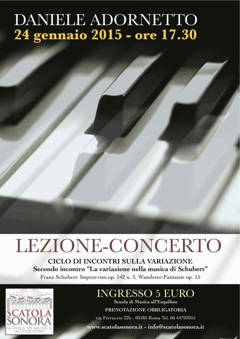 LEZIONE-CONCERTO Daniele Adornetto