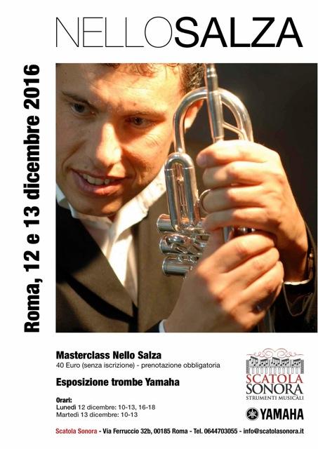 Read more about the article Masterclass NELLO SALZA 12-13 dicembre