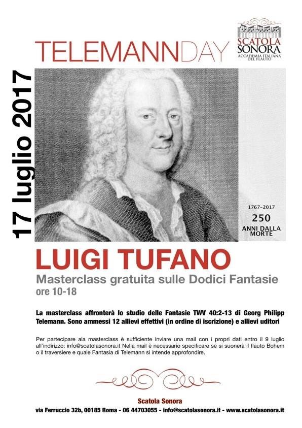 TELEMANN DAY – Luigi Tufano – Masterclass gratuita
