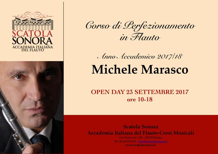Michele MARASCO – OPEN DAY 23 settembre