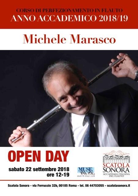 OPEN DAY Michele MARASCO 22 settembre 2018