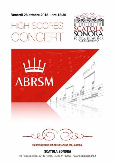 Concerto esami ABRSM