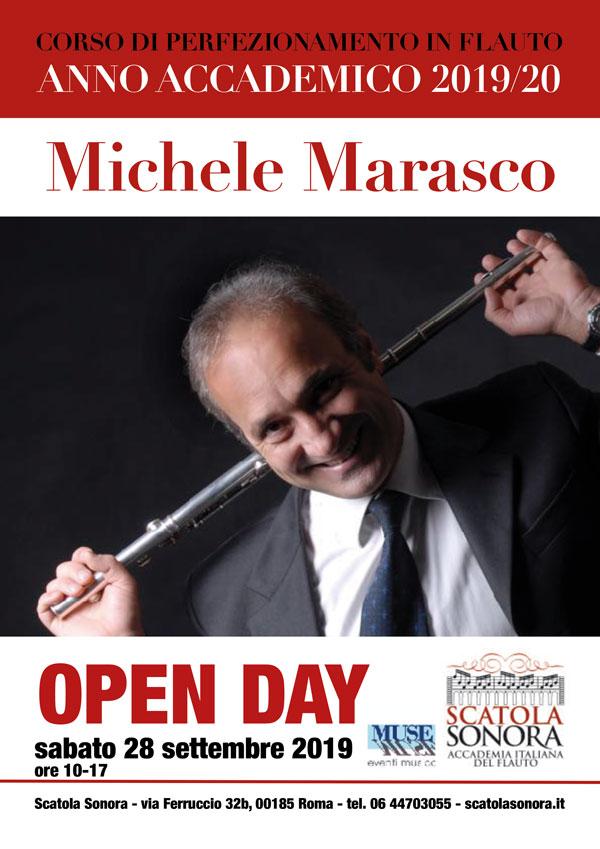 Corso di perfezionamento in Flauto – Michele Marasco – Open day 2019/20