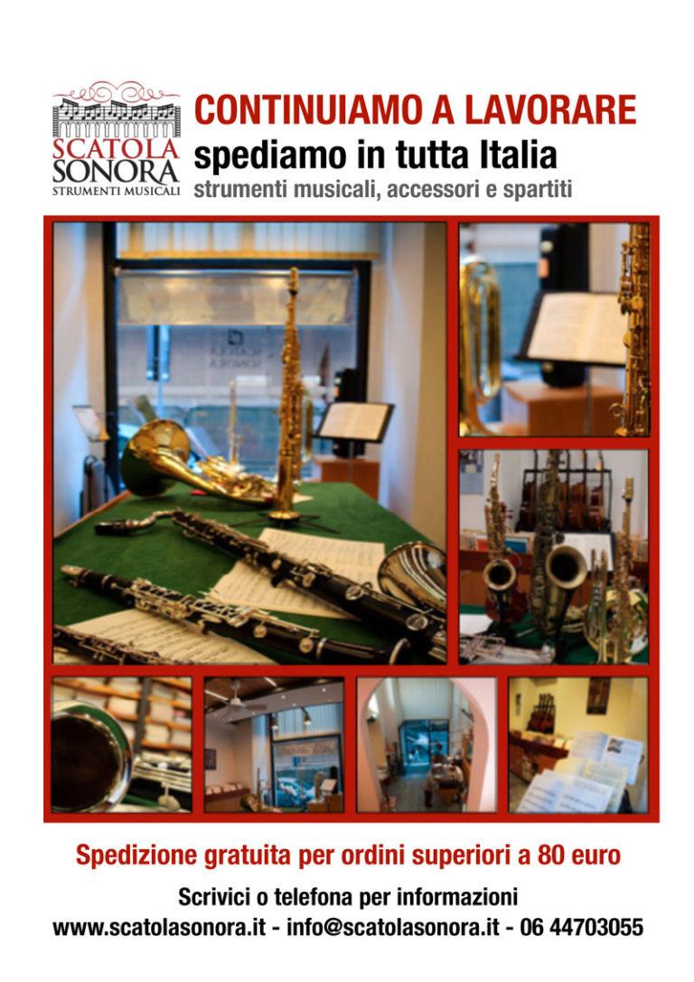 CONTINUIAMO A LAVORARE spediamo in tutta Italia!