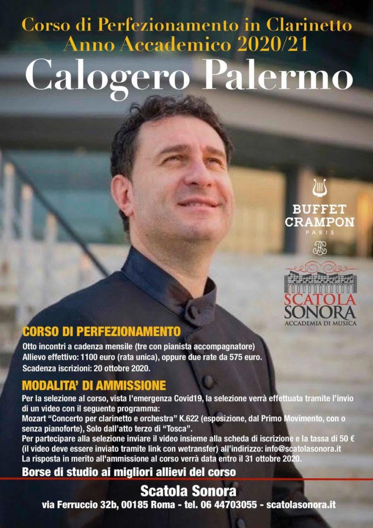 Calogero Palermo – Corso di perfezionamento, anno 2020/21