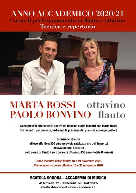ROSSI / BONVINO – Corso di perfezionamento in OTTAVINO / FLAUTO
