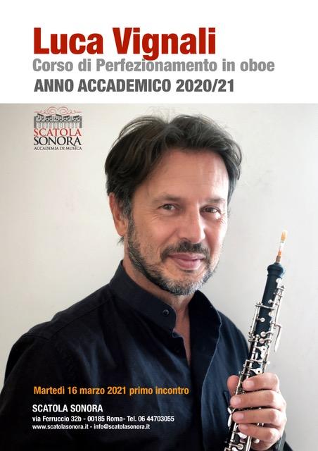 Primo incontro 16 marzo 2021 – Corso di Perfezionamento in Oboe