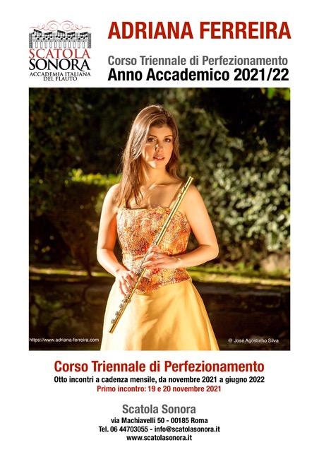 ADRIANA FERREIRA Corso Triennale di Perfezionamento