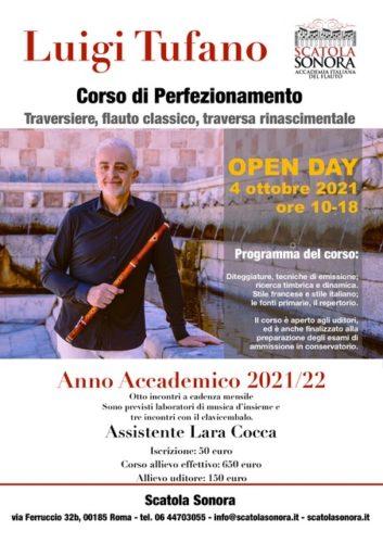 Luigi Tufano / traversiere, flauto classico, traversa rinascimentale
