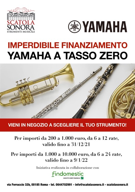Read more about the article YAHAHA A TASSO ZERO